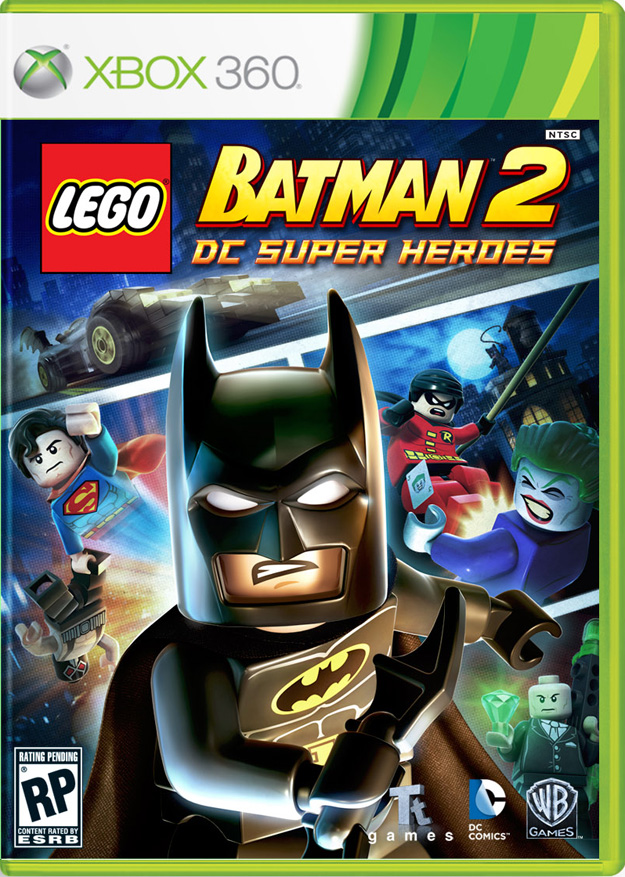 Cover Art for LEGO Batman 2: DC Super Heroes - SuperHeroHype