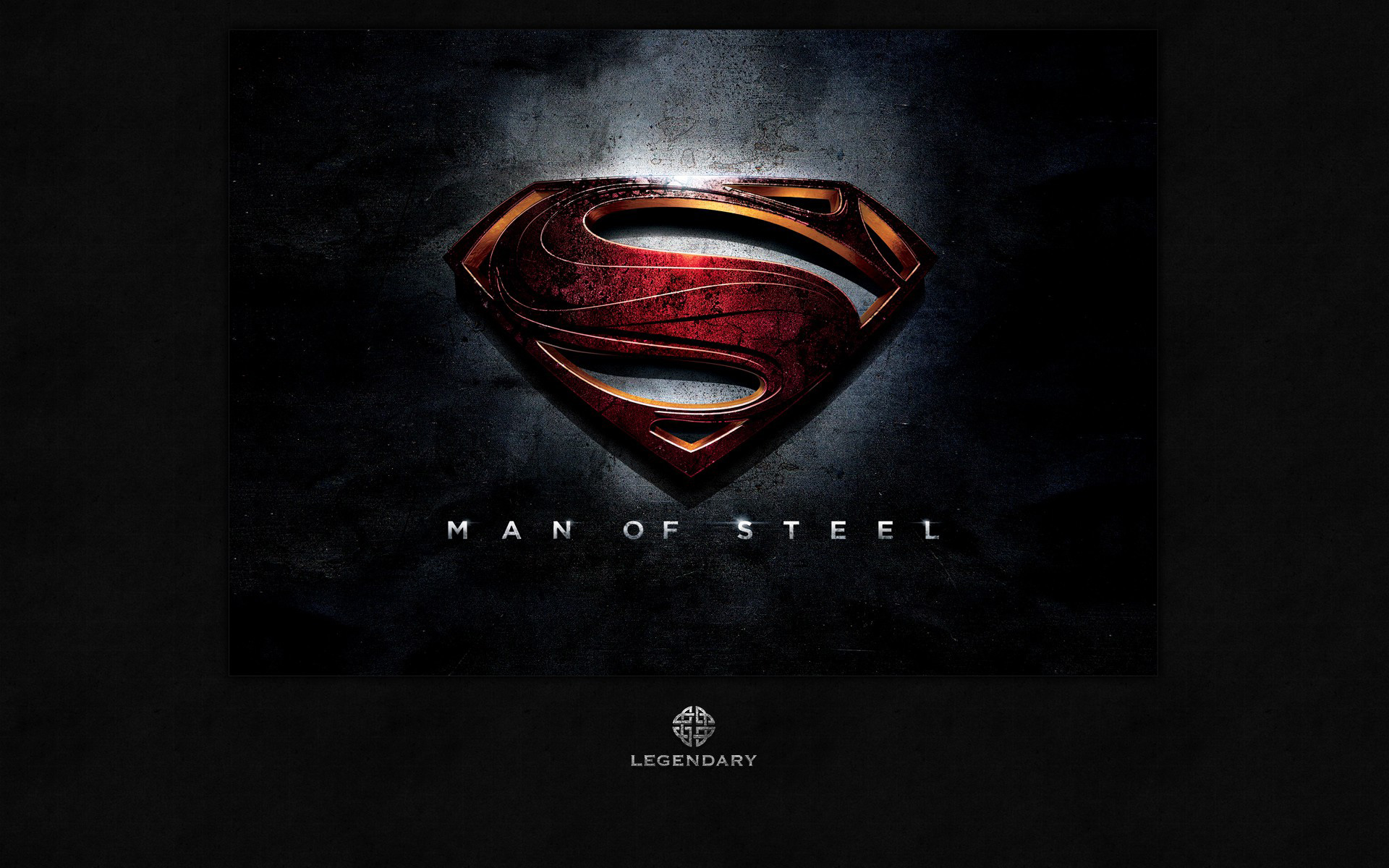hires version of the man of steel logo now online
