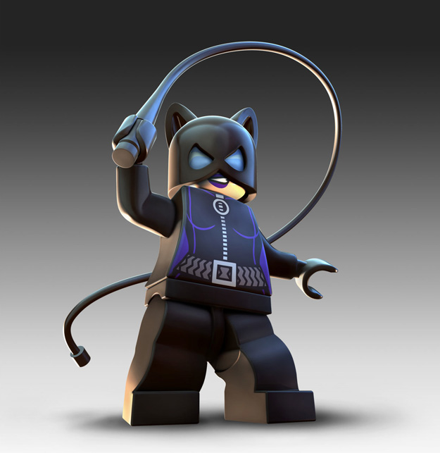 Catwoman and Wonder Woman Revealed in LEGO Batman 2 ...
