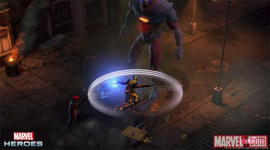 Games: New Screens and Characters Revealed for Marvel Heroes