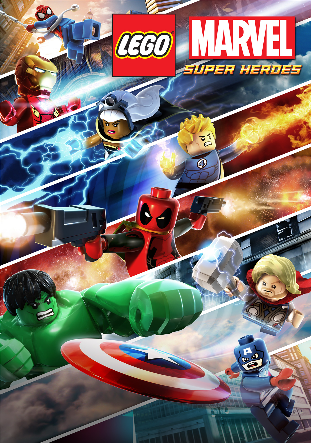 The new poster for lego marvel super heroes superherohype the new poster for lego marvel super heroes voltagebd Choice Image
