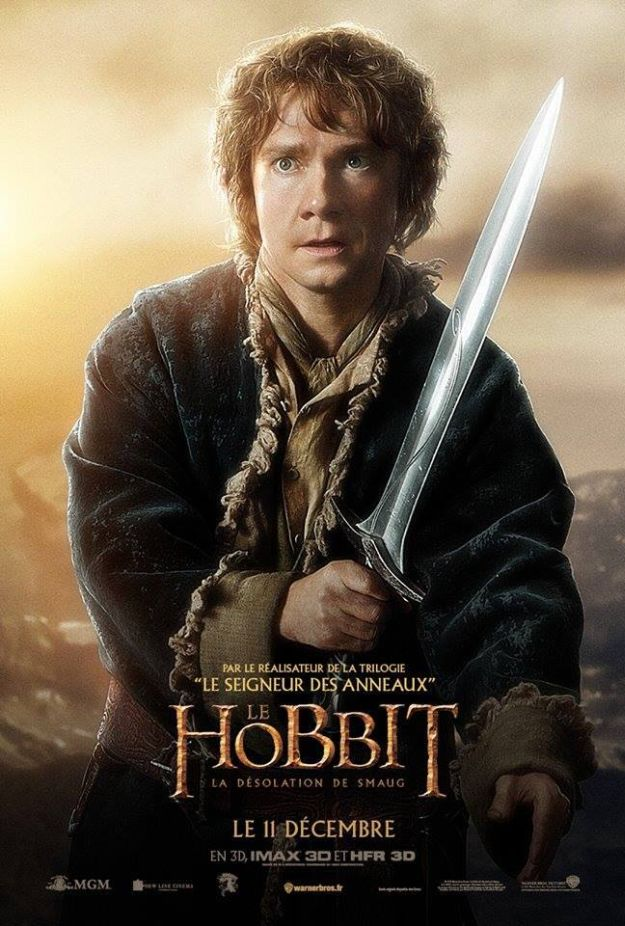 Six International Character Posters for The Hobbit: The ...