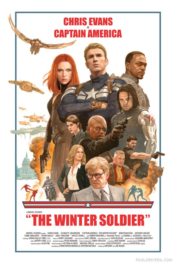 Captain America: The Winter Soldier - Paolo Rivera