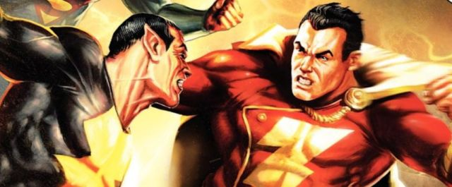 black adam and shazam header