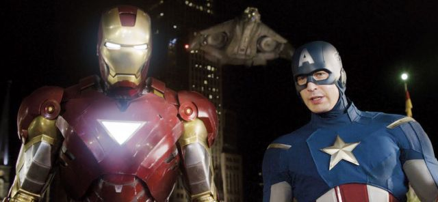 iron man and cap civil war