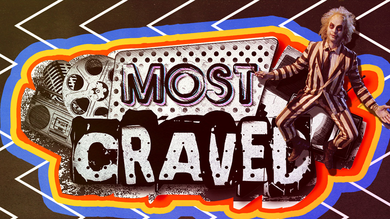 most craved beetlejuice pirates of the caribbean the walking dead
