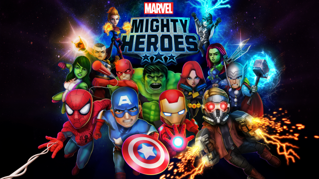 Launch Trailer for Mobile Title Marvel Mighty Heroes Released