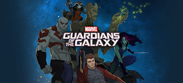 New Agents of SHIELD and Animated Guardians of the Galaxy Series Posters