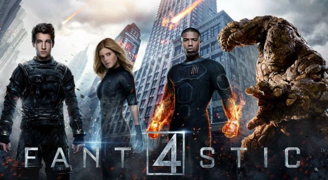 Fantastic Four posters show off the character's powers