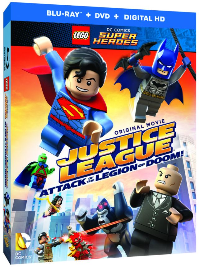 big ole lego justice league cover