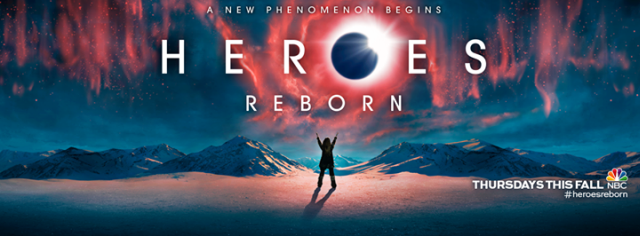 Miko, Luke, Joanne and Tommy and featured in new Heroes Reborn posters.