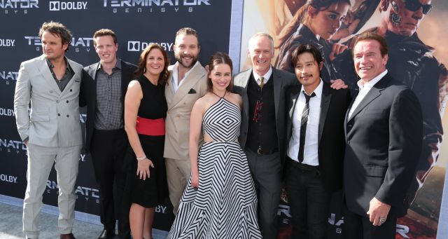 50 Photos from the Terminator Genisys Premiere