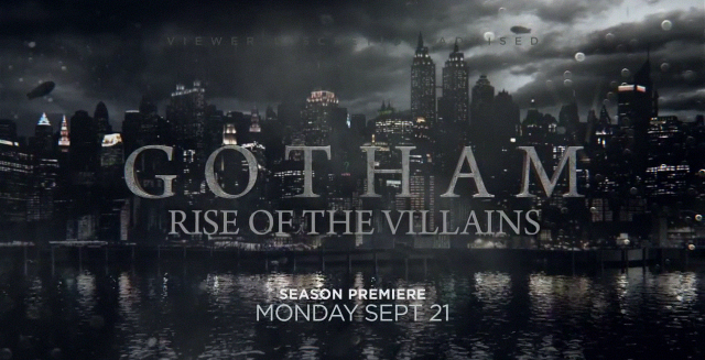 First Promos for Gotham Season Two Tease the Rise of the Villains.