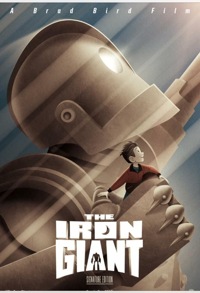 The Iron Giant Set to be Re-Released in Theaters this September!