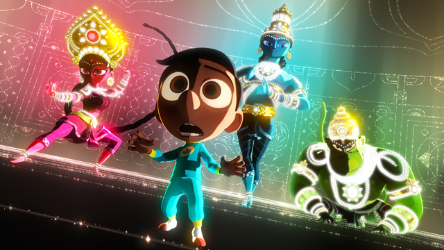 A First Look at the Pixar Animation's Short Sanjay's Super Team