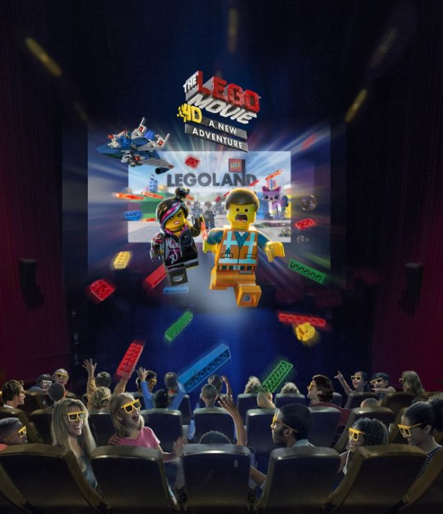 Merlin Entertainments LegoLand 4D Theatre