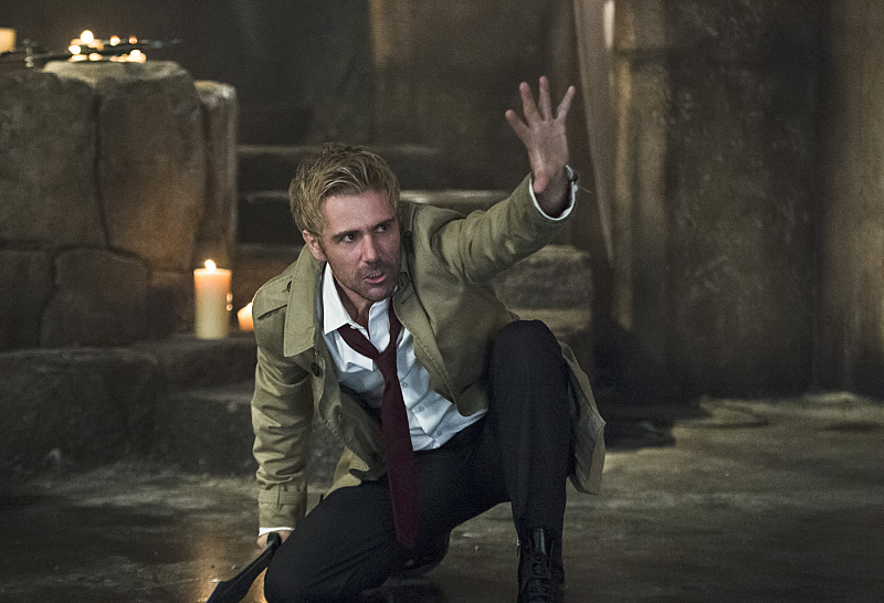 Oliver Queen Tattoo From Constantine: John Constantine Has A Warning For Oliver In An Arrow Clip