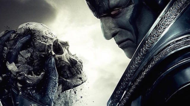Check out a new X-Men: Apocalypse poster, which features a look at Oscar Isaac as the franchise's new big bad. Catch the film in theaters May 27, 2016.