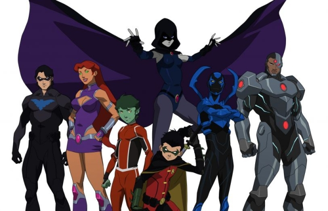 Check out the first Image and cast announcement for Justice League vs Teen Titans Animated Movie.