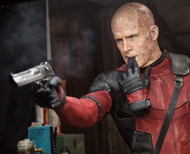 Deadpool Unmasked in New Image from the Movie