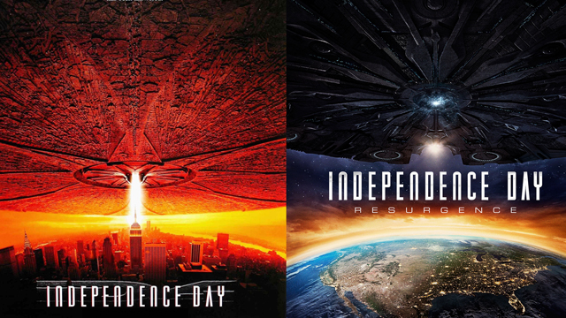 Get ready for an Independence Day double feature on June 23. The original ID4 will screen at 5pm with the new film will following at 8pm for the same price!