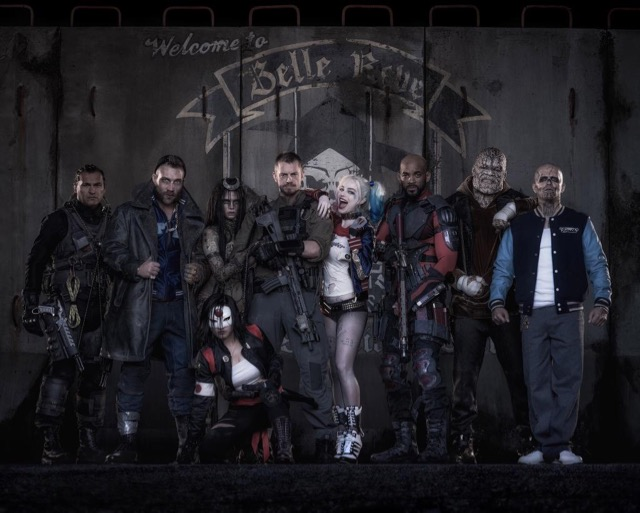 On the Set of Suicide Squad with the Worst Heroes Ever