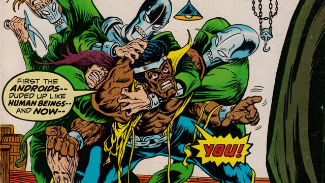 Luke Cage confronts Doctor Doom in on of the earliest Luke Cage stories.