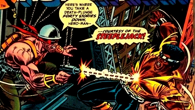 The Luke Cage stories continue as he takes on the name Power Man.