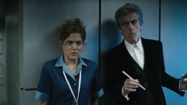"Check out a first clip from the upcoming 2016 Doctor Who Christmas Special, ""The Return of Doctor Mysterio"". Catch it on BBC America on December 25."