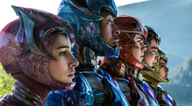 Power Rangers Opens to $40.5 Million in Second Place