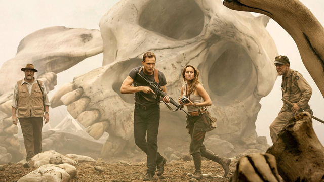 Check out a new Kong: Skull Island clip for a look at how the new film ties to the world of Gareth Edwards' Godzilla and the upcoming sequels.