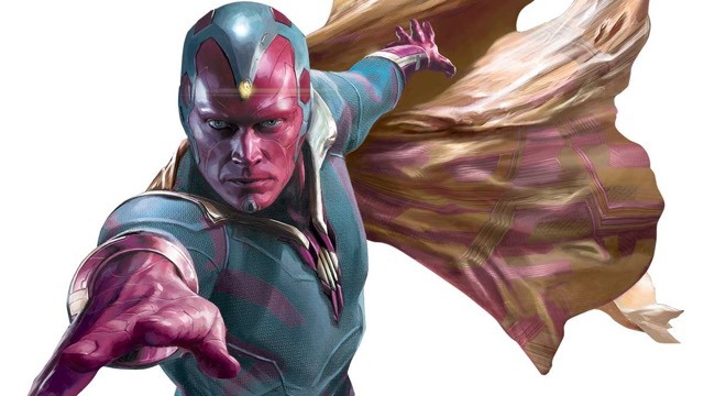 Vision Confirmed For Avengers Infinity War