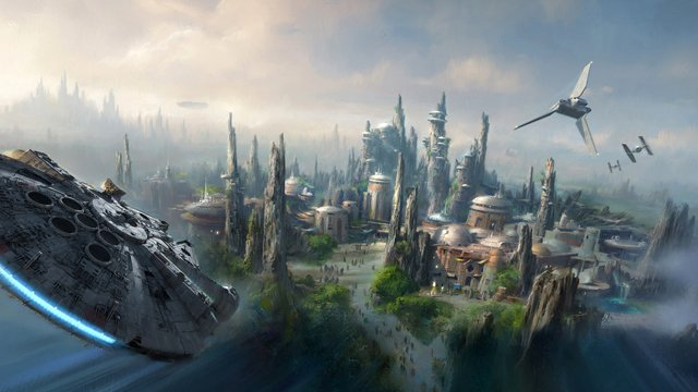 "D23 has just announced ""A Galaxy of Stories"" pavilion that will tease upcoming theme park attractions like the highly-anticipated Star Wars themed lands."