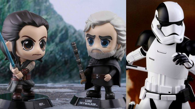 First Star Wars The Last Jedi Hot Toys And Cosbaby Figures