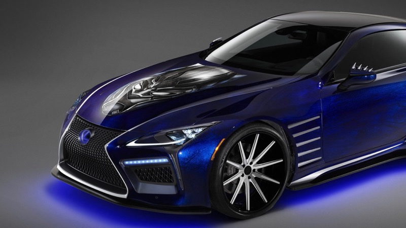 Black Car: Lexus Unveils Black Panther-Inspired Cars For 2018