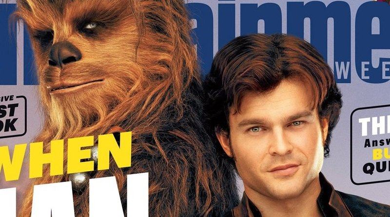 SoloAStarWarsStoryEWCoverHeader - Solo: A Star Wars Story EW Cover Revealed, New Pictures