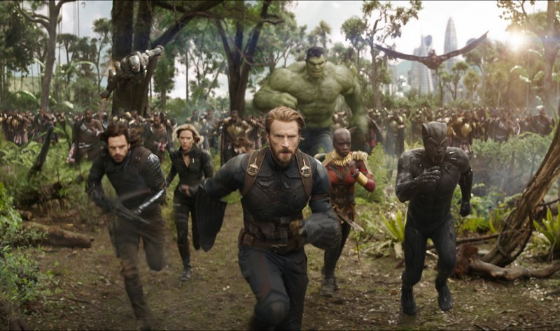 Avengers: Infinity War Set Interviews and Scene Description