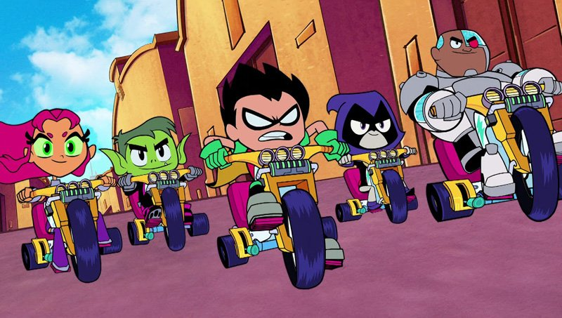 Watch the New Teen Titans GO to