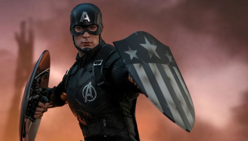 Captain America Concept Art Hot Toy Marks Marvel's First Ten Years