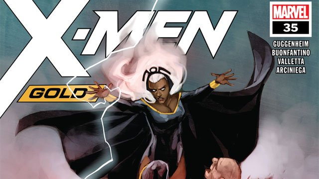 Exclusive Preview: X-Men Gold #35 Forces Storm To Face a God
