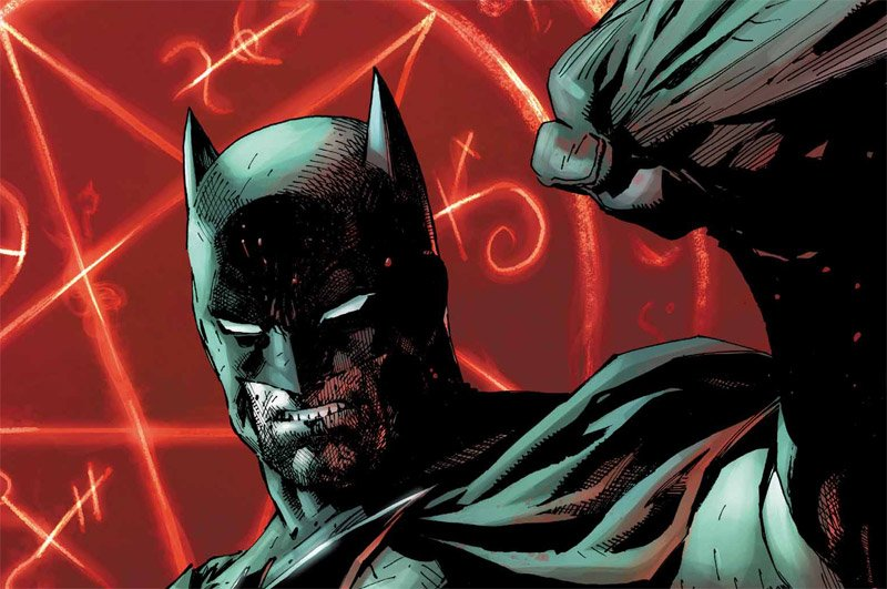 Exclusive Batman: Damned Pages Redefine The Dark Knight