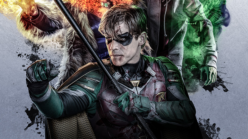 New Character Teasers Released For Titans