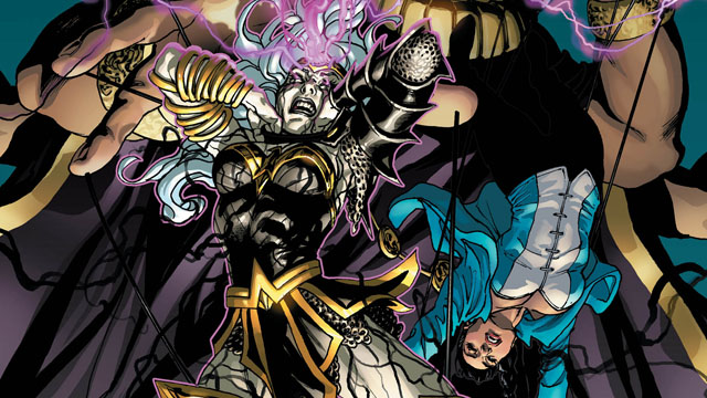 Exclusive Preview: Justice League Dark and Wonder Woman: The Witching Hour #1