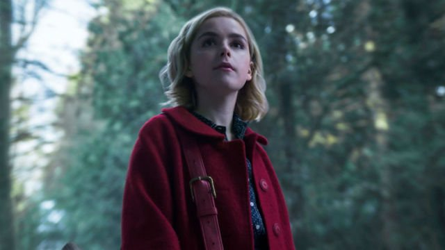 Sabrina Meets Salem in a New Chilling Adventures Clip