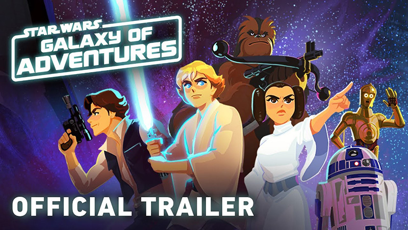 Lucasfilm Reveals Star Wars Galaxy Of Adventures Animated