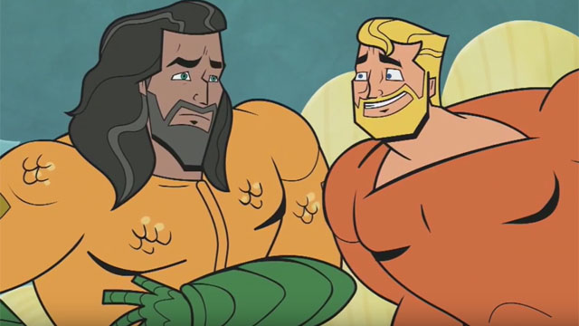 Adult Swim Reunites Aquaman With Himself in New Animated Ad