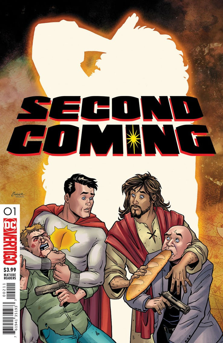 DC Cancels Jesus Christ Superhero Satire, Second Coming