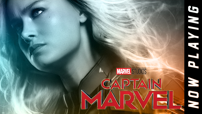 Finally with Captain Marvel the franchise gets a complex female superhero
