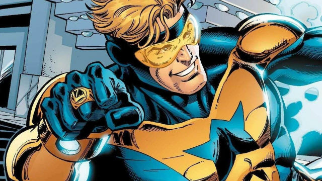 Booster Gold Writer Says His Screenplay is Finished