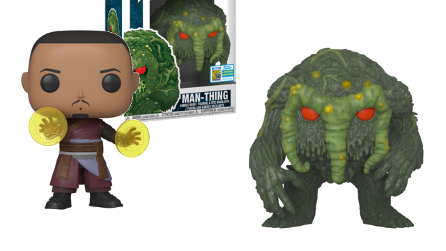 Man-Thing and Wong Lead Funko's SDCC 2019 Marvel Exclusives